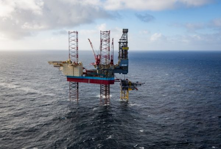 The Maersk Interceptor jackup drilling rig