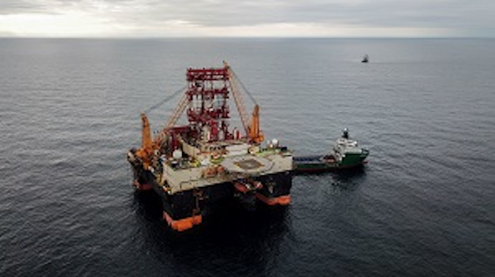 Scarabeo 9 has spudded the Maria-1 exploration well, the first ever deepwater well in the Russian sector of the Black Sea
