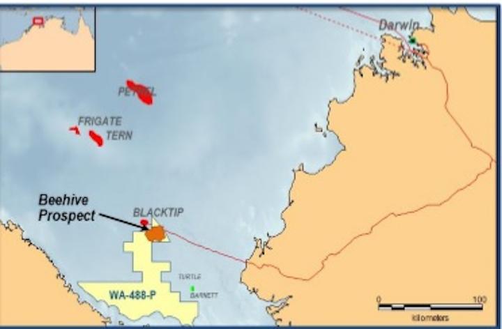 WA-488-P permit offshore Western Australia