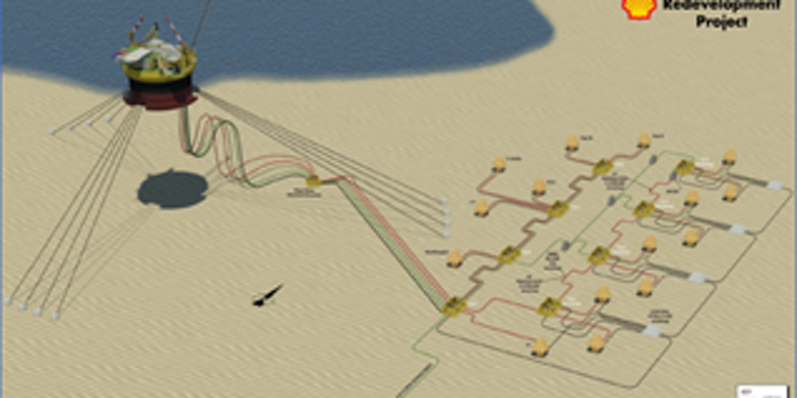 Penguins oil and gas field redevelopment in the UK northern North Sea