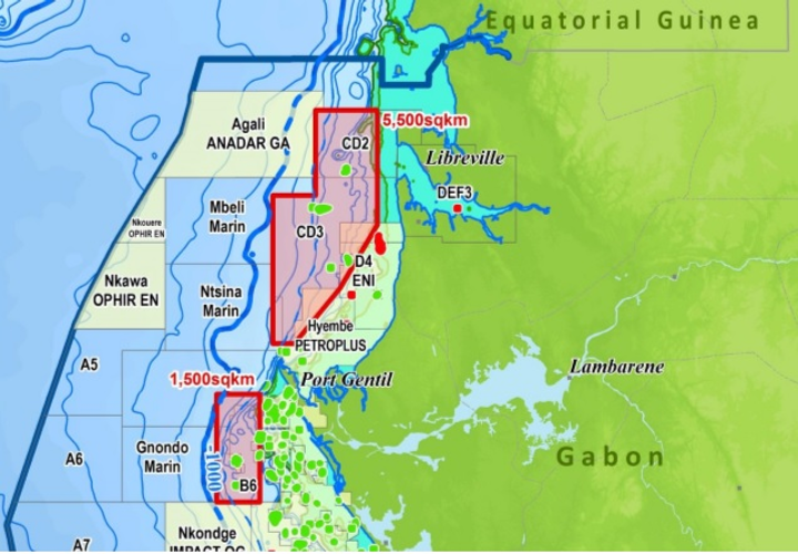 Shallow-water 3D multi-client seismic survey offshore northern Gabon