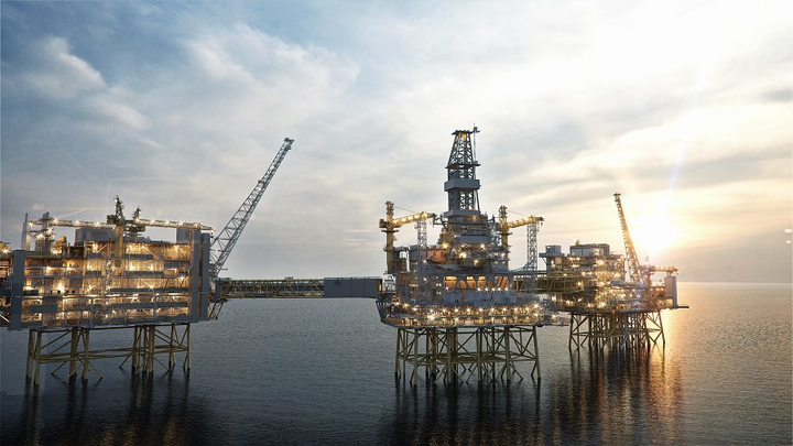 Johan Sverdrup Phase 1 oil and gas field development offshore Norway