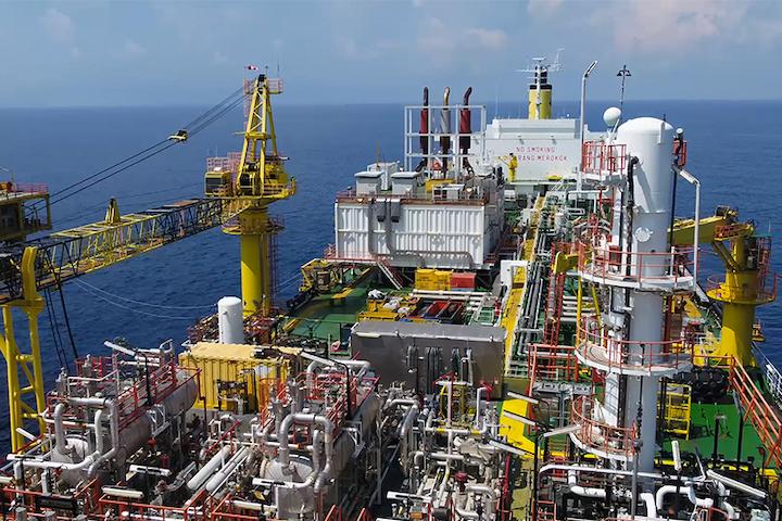 Bertam oil field FPSO offshore Malaysia