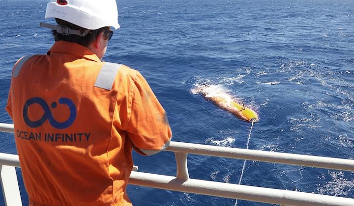 Ocean Infinity Kongsberg HUGIN AUV system