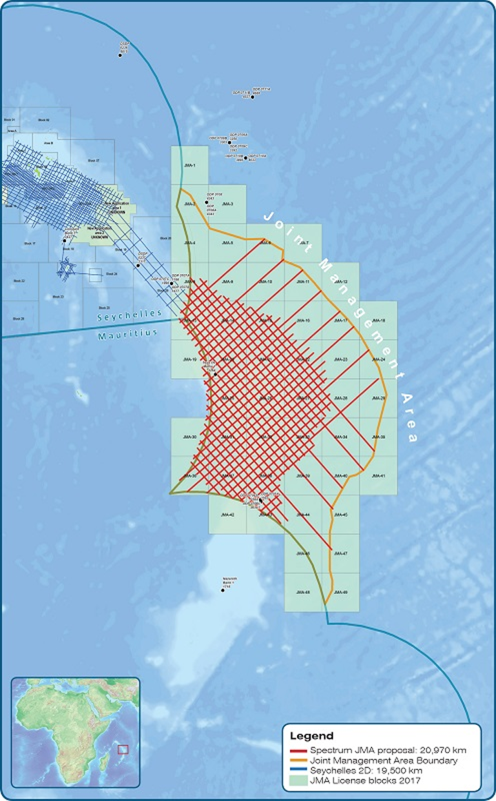 Joint Management Area covering the Mascarene Plateau between Mauritius and the Seychelles