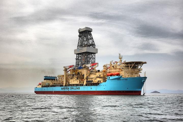 Maersk Venturer ultra-deepwater drillship