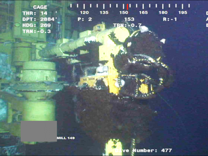 subsea jumper leak