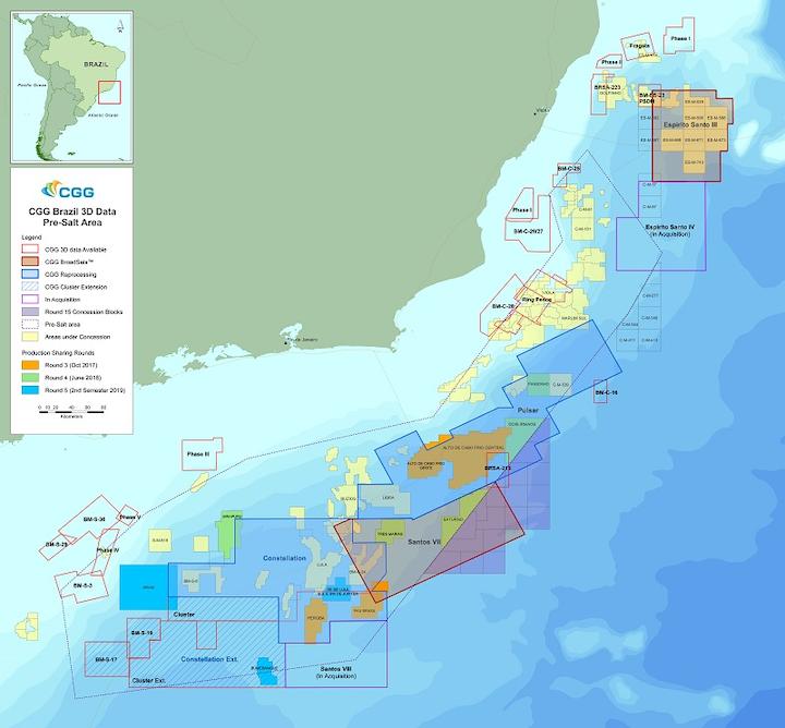CGG offshore Brazil