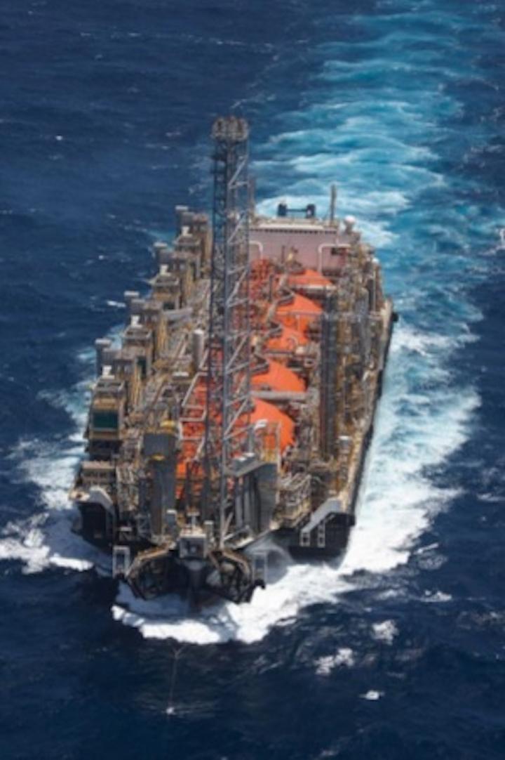 FLNG Hilli Episeyo offshore Cameroon