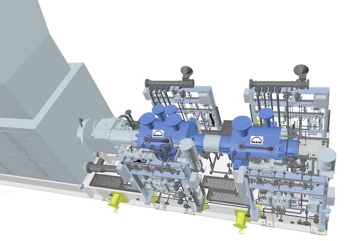 MAN Diesel & Turbo compressor trains