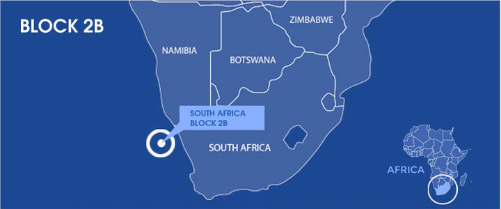 Block 2B offshore South Africa