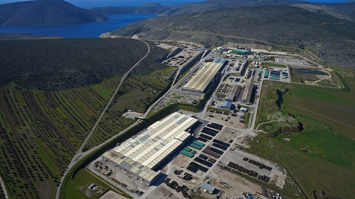 Corinth Pipeworks' HFI pipe mill located in Thisvi, Greece