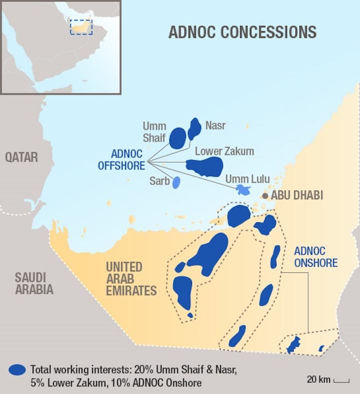 ADNOC concessions