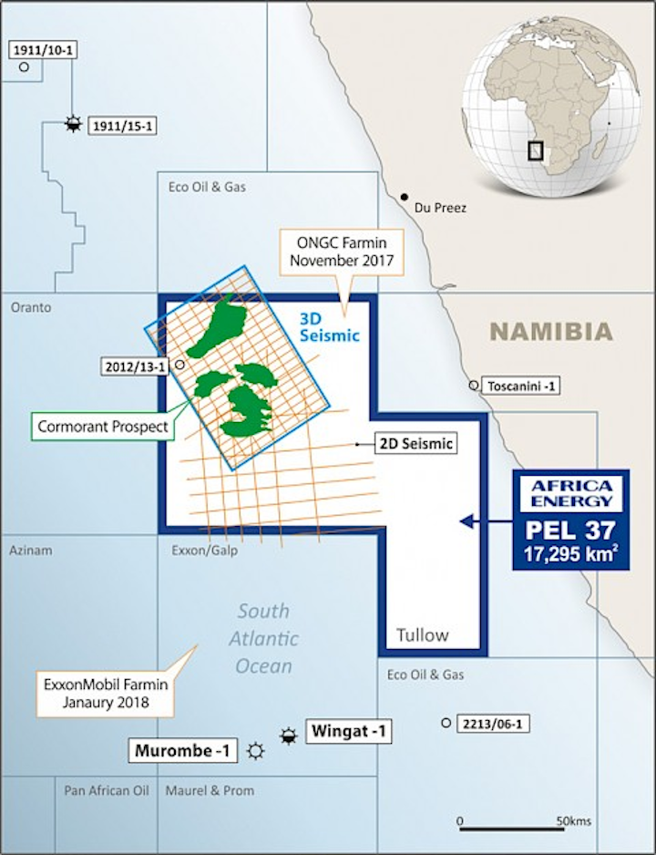 PEL 37 license offshore Namibia