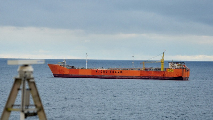 Njord Bravo floating storage and offloading vessel