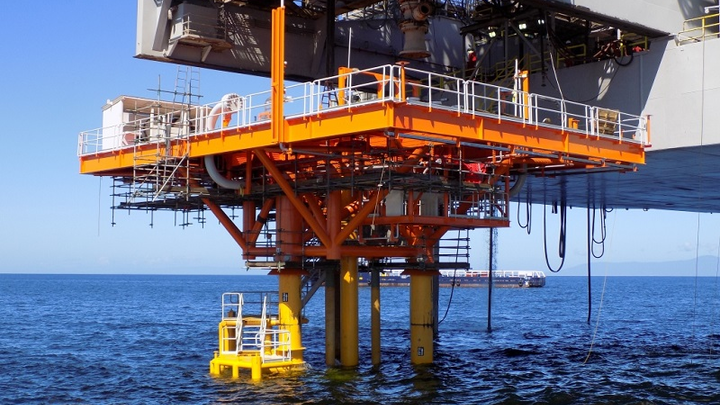 Sea Swift conductor supported platform installed in the Iguana field offshore Trinidad and Tobago