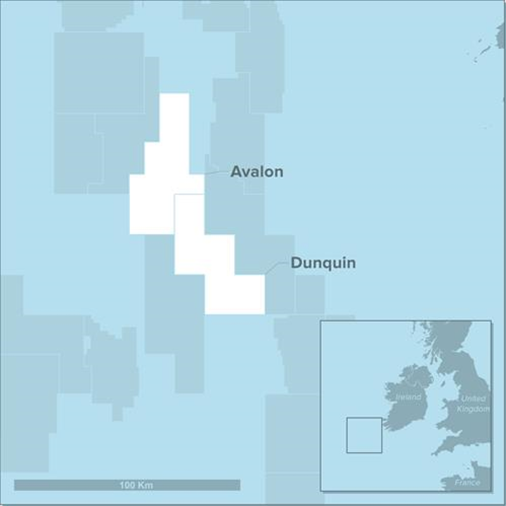 Avalon prospect offshore Ireland