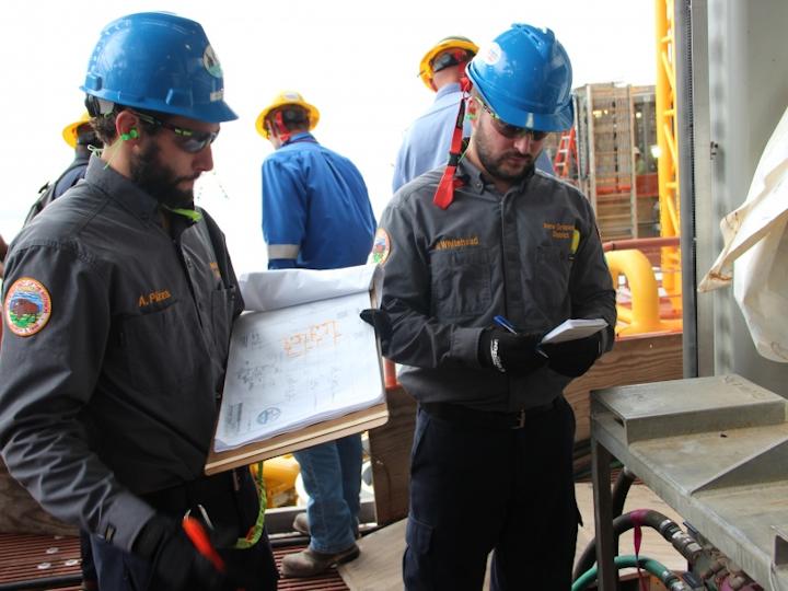BSEE inspects Shell's Appomattox platform
