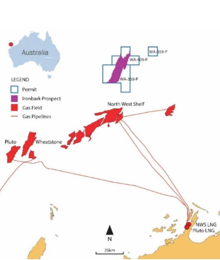 WA-359-P permit offshore Western Australia