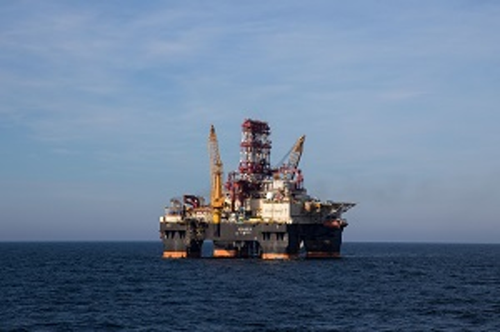 Scarabeo 9 semisubmersible drilling rig