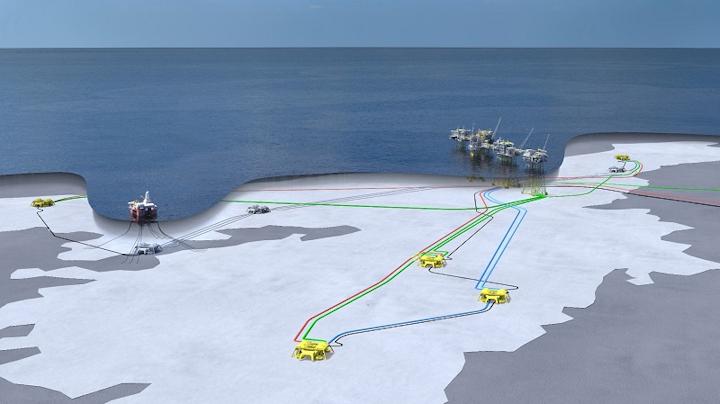 Johan Sverdrup Phase 2 offshore Norway