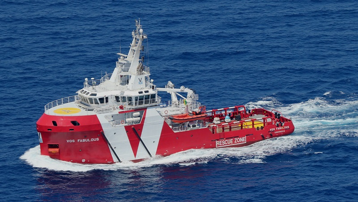 The emergency response and rescue vessel VOS Fabulous