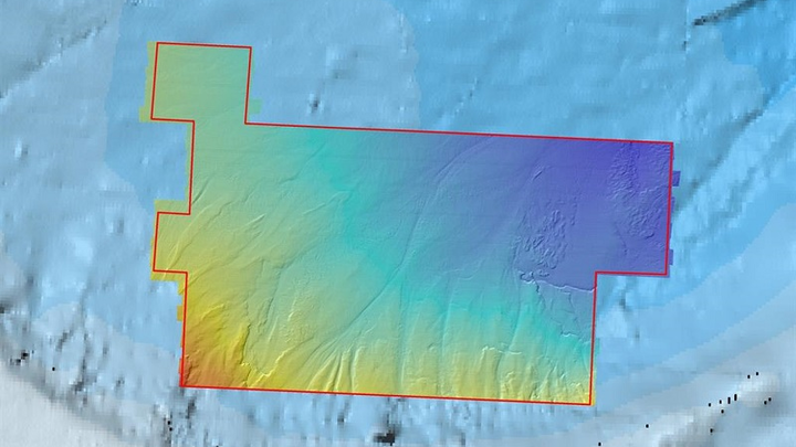 High-resolution bathymetric data acquired by Fugro