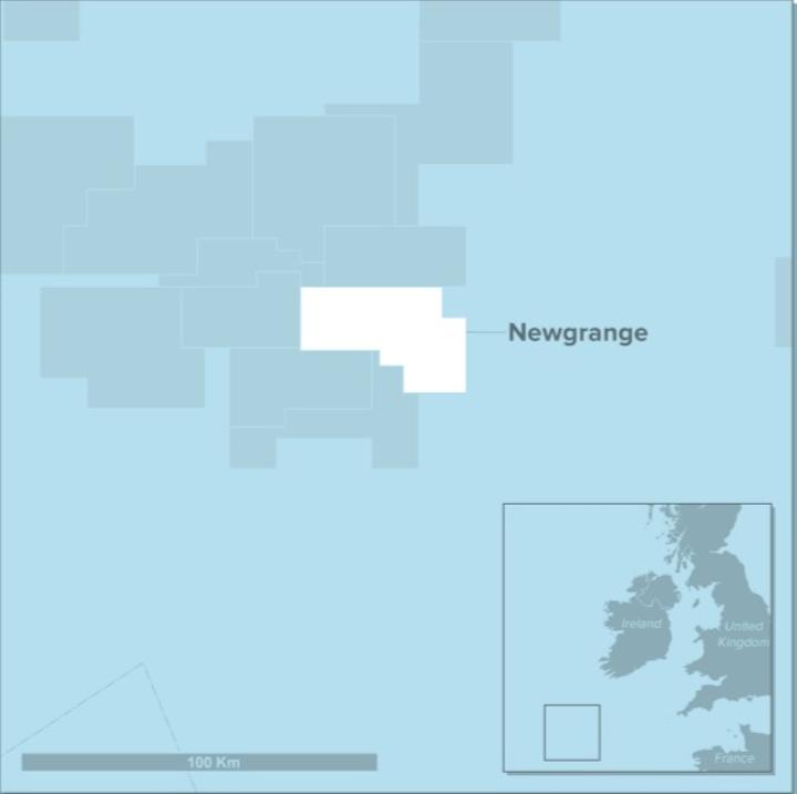 Newgrange prospect offshore southwest Ireland