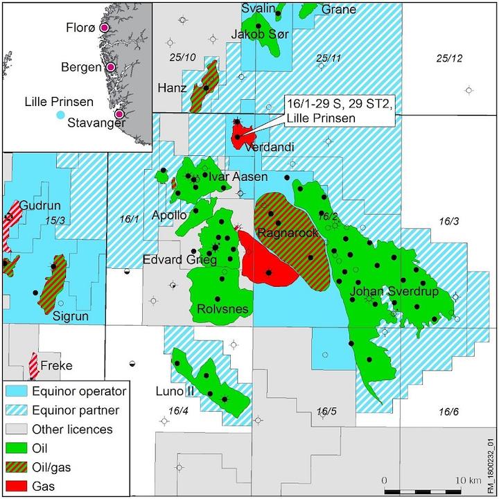 Lille Prinsen prospect in the Utsira High region offshore Norway