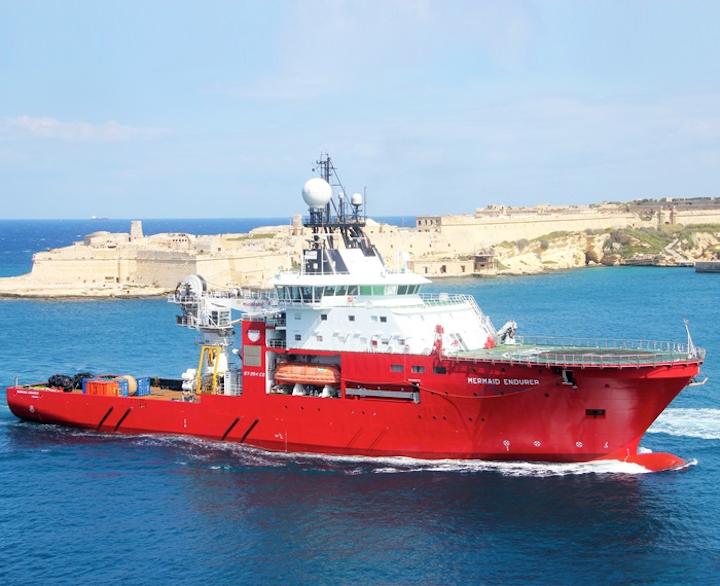 DP-2 dive support vessel Mermaid Endurer