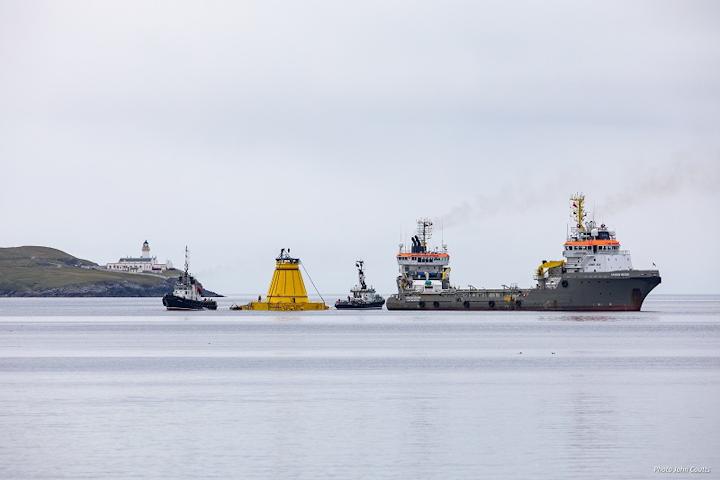 Lancaster field turret buoy mooring system west of Shetland