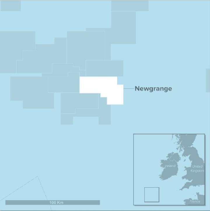 Newgrange offshore southwest Ireland