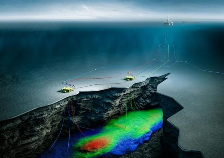 Fenja subsea field layout