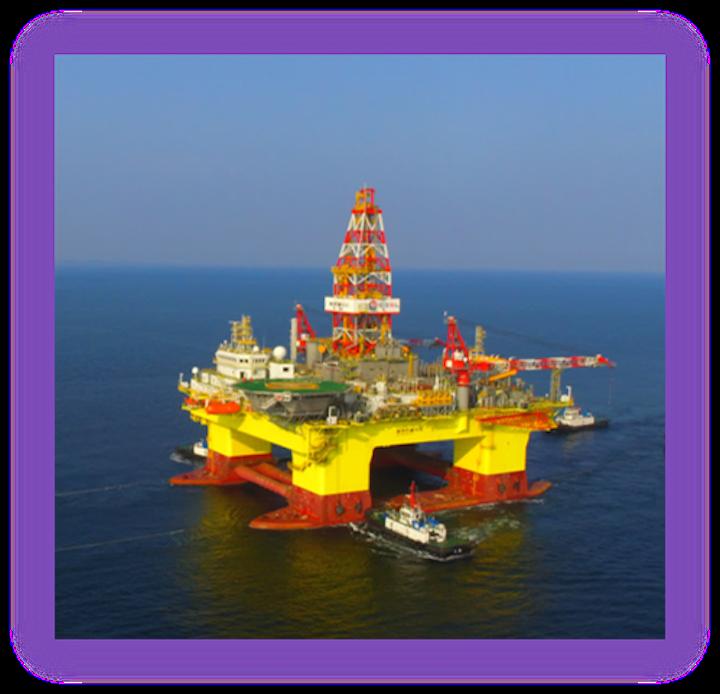 HYSY 982 semisubmersible drilling rig