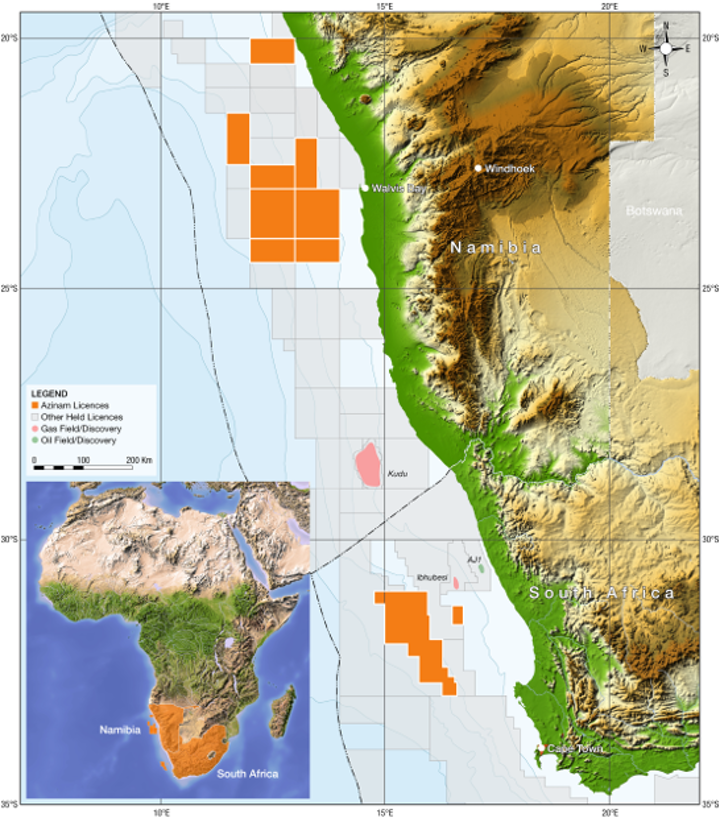 Azinam offshore South Africa
