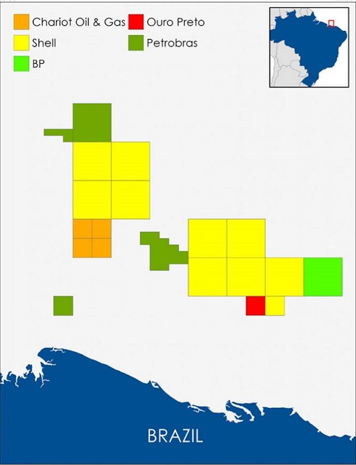 Chariot Oil & Gas licenses offshore Brazil
