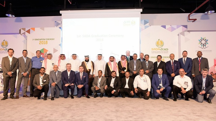 First group of graduates from the Saudi Arabian Drilling Academy