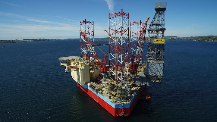 Maersk Integrator jackup drilling rig