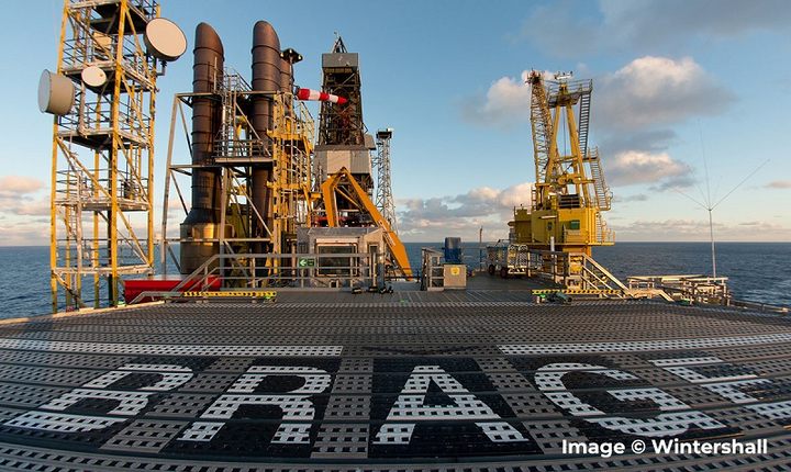 Brage platform offshore Norway