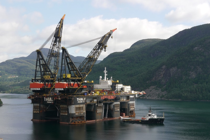 Able to dismantle seven Sable Offshore Energy platforms