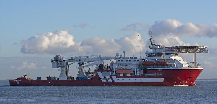 Diving support vessel Boka Atlantis