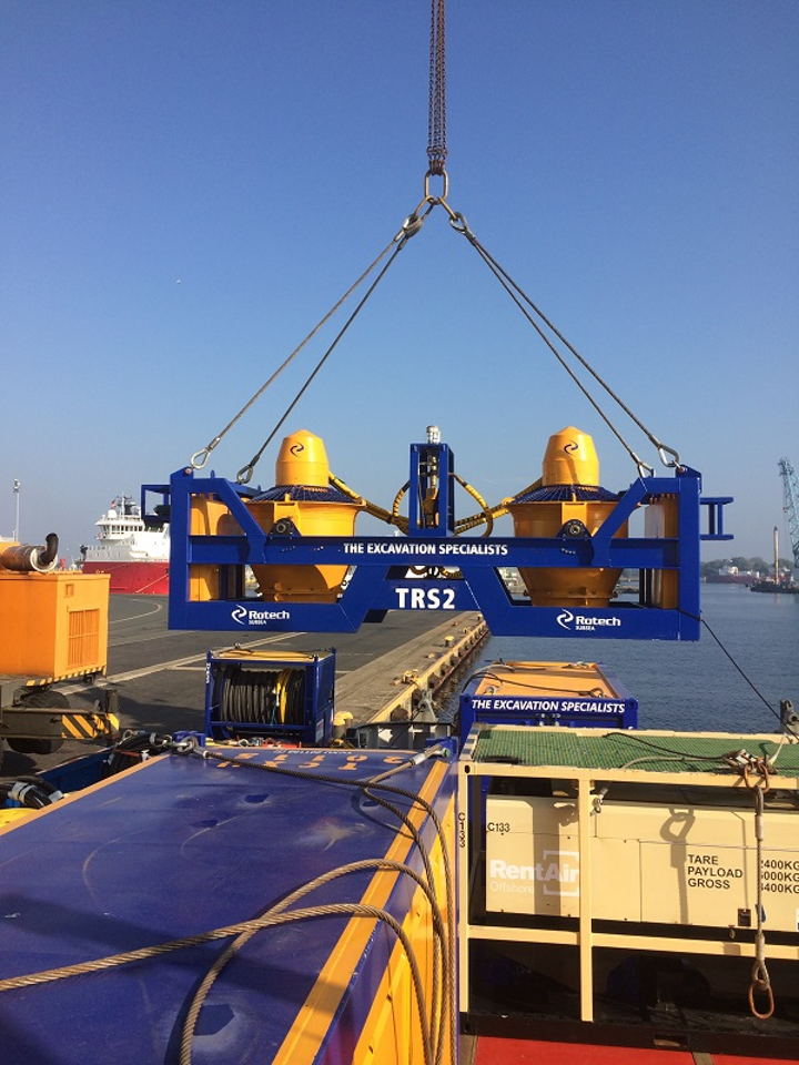 Rotech Subsea's TRS2 controlled flow excavation tool