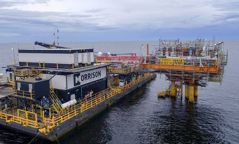 Iguana gas field development offshore Trinidad and Tobago