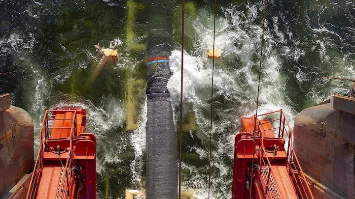 Nord Stream 2 pipelay