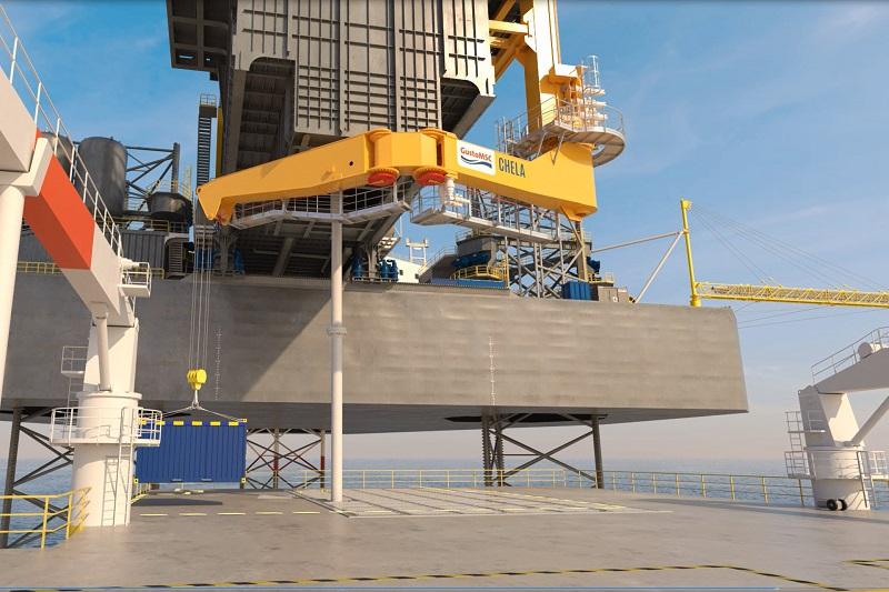 Chela, GustoMSC's multi-purpose offshore crane