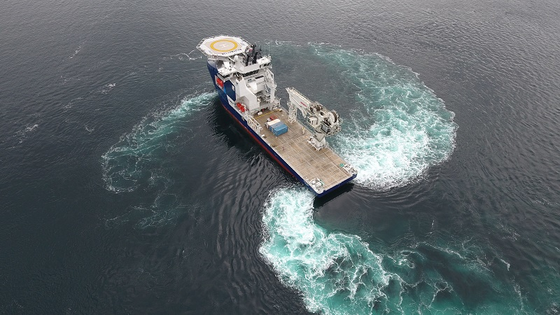 Subsea construction vessel Topaz Tiamat