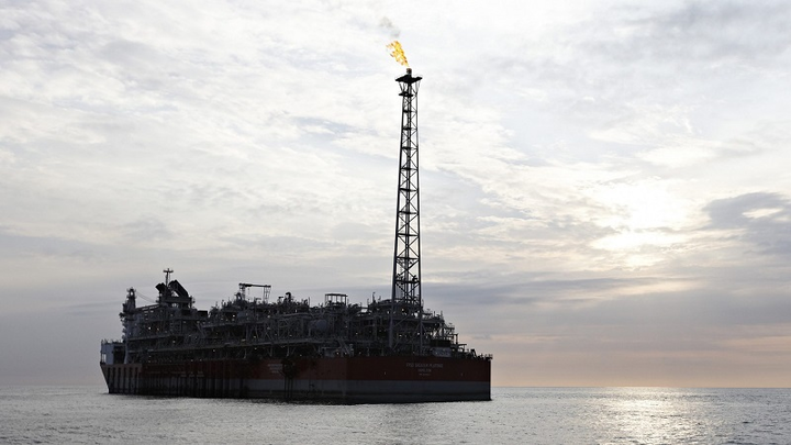 FPSO Greater Plutonio offshore Angola