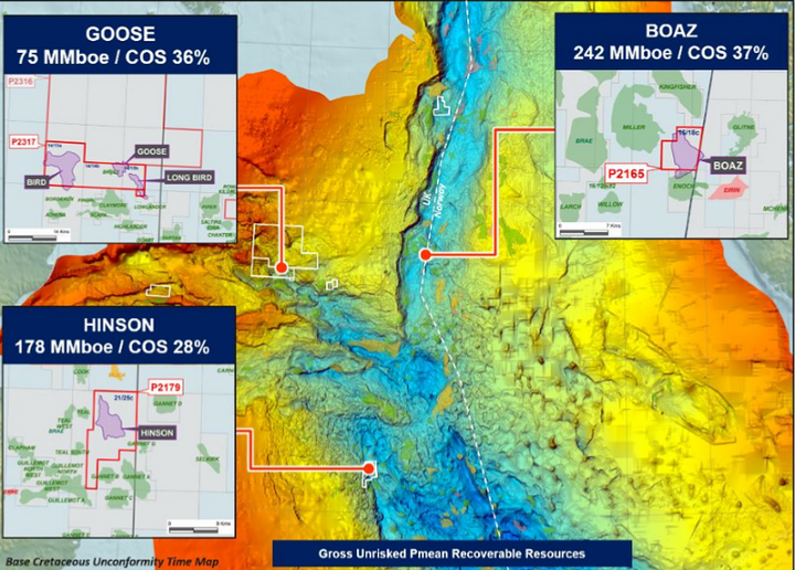Three exploration wells planned in the UK North Sea