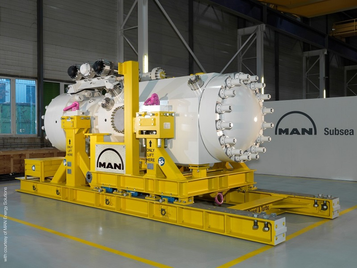 HOFIM motor-compressor unit from MAN Energy Solutions Switzerland