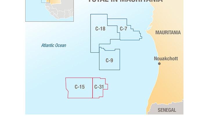 Total licenses offshore Mauritania